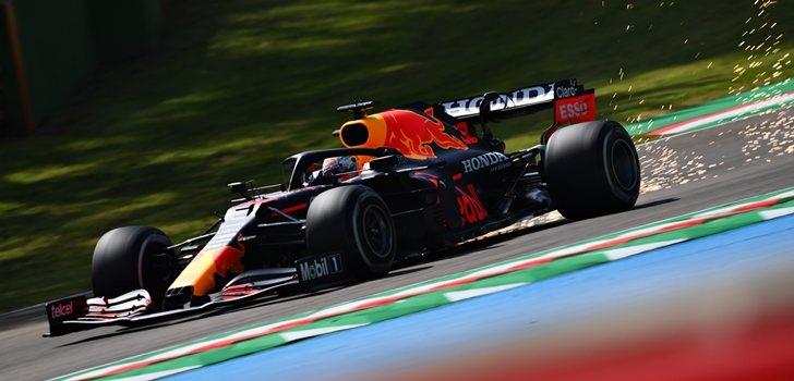 Verstappen, en los Libres del GP de Emilia Romaña 2021