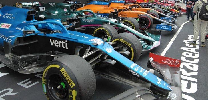 Los monoplazas de F1, tras el GP de Emilia Romaña