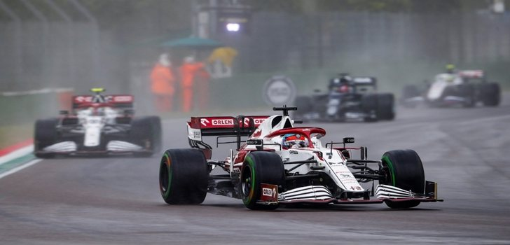 Räikkönen, en el GP de Emilia Romaña 2021