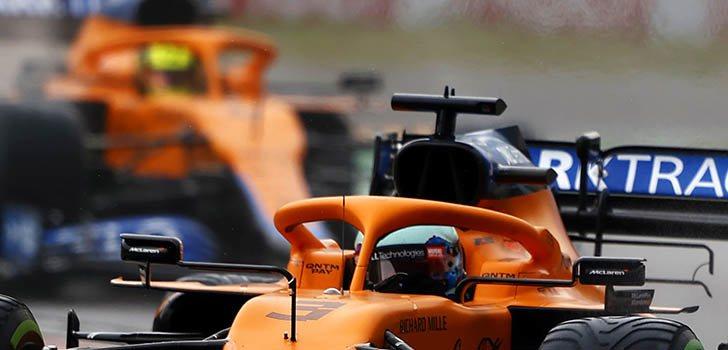 Daniel Ricciardo confía en McLaren para más adelante