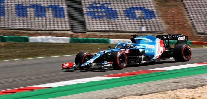 Alonso, quinto mejor tiempos en los Libres 2 de Portugal