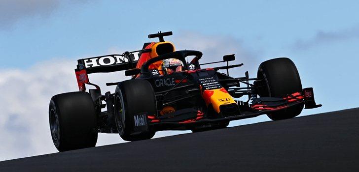 Verstappen, en los Libres 2 de Portugal