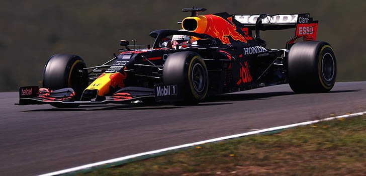 Max Verstappen, con todo para la carrera de Portugal