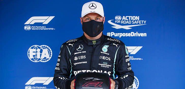 Valtteri Bottas recupera las sensaciones para alzarse con la pole en Portugal