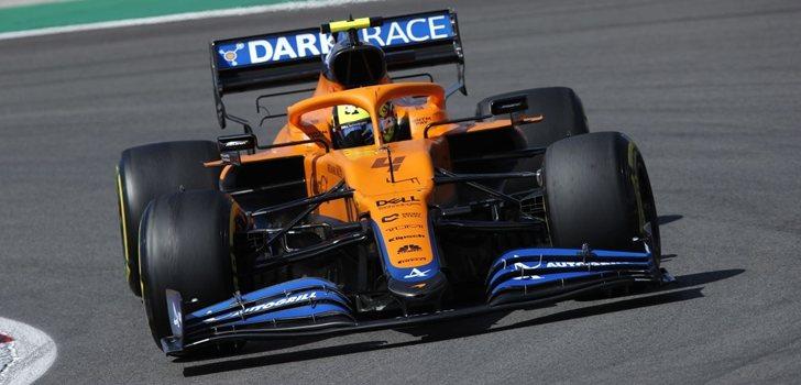 Norris, en el GP de Portugal 2021
