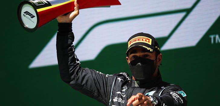 Mercedes y Hamilton se alzan con la victoria en Portimao