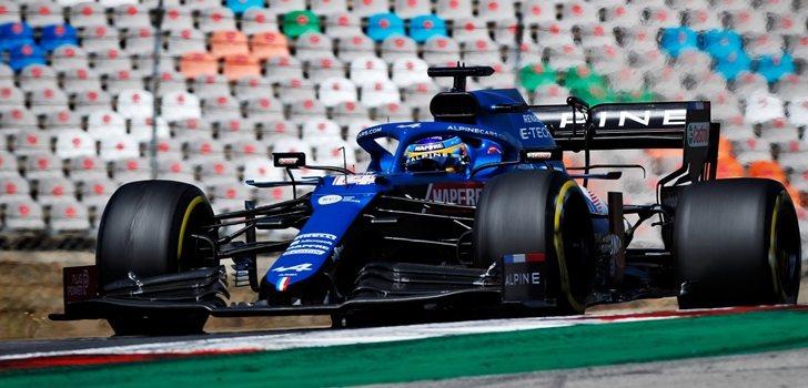 Alonso, en el GP de Portugal
