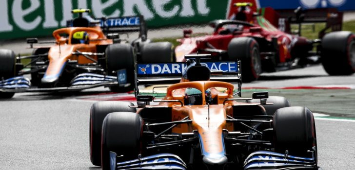 Daniel Ricciardo logra una sexta plaza valiosa para McLaren