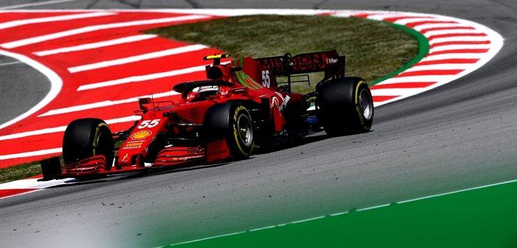 Sainz, en el GP de España 2020