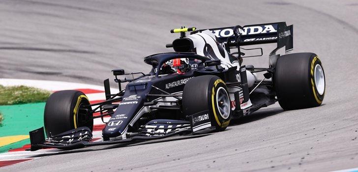 Gasly, en el GP de España 2021