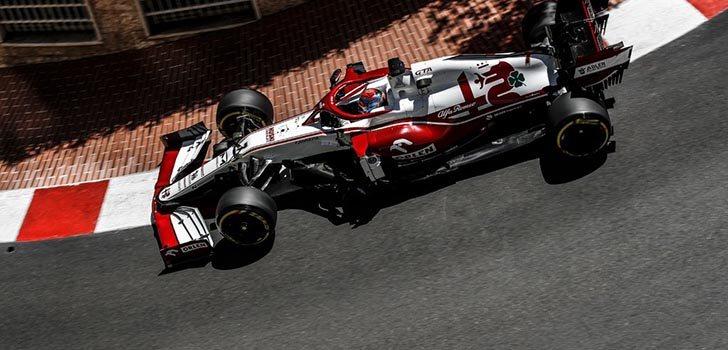 Antonio Giovinazzi, satisfecho con su Q3 en Mónaco