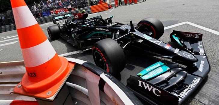 Bottas, en el GP de Mónaco