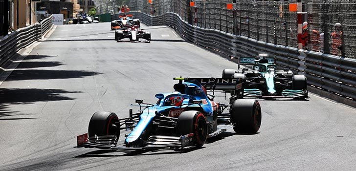 Esteban Ocon sigue sumando puntos para Alpine