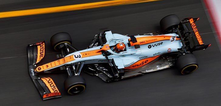 Daniel Ricciardo, contrariado tras el GP de Mónaco