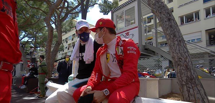 Villeneuve señala a Leclerc como el culpable de su abandono