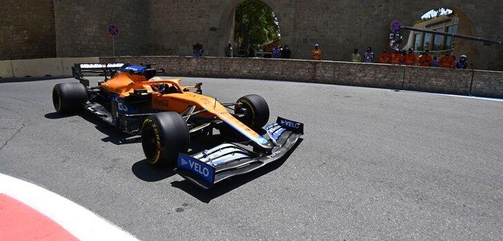 Ricciardo, en los Libres de Azerbaiyán