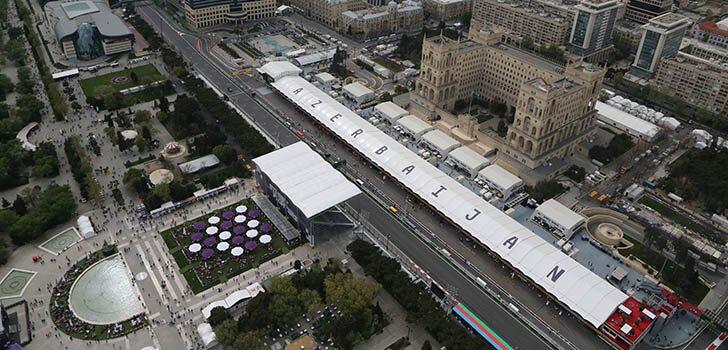 Directo carrera GP azerbaiyán f1 2021