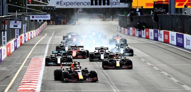 Los Red Bull, al frente en Azerbaiyán