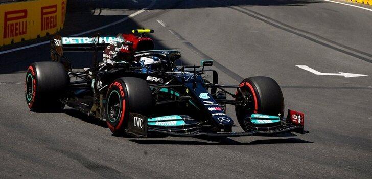 Bottas, en el GP de Azerbaiyán 2021