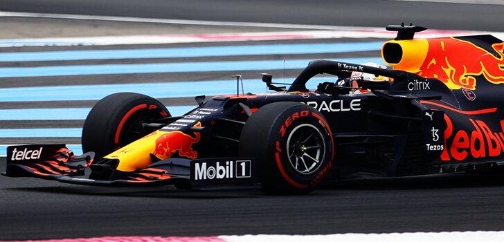Verstappen se lleva la Pole en Francia