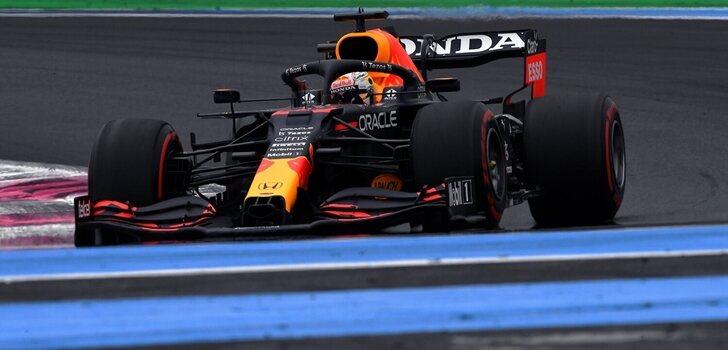 Verstappen, en la Qualy de Francia