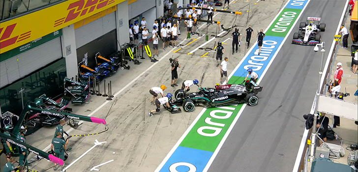 Crónica Libres 2 GP Estiria F1 al día