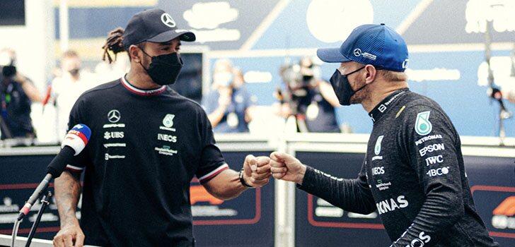 Mercedes se marcha de Austria sin oportunidades de ganar