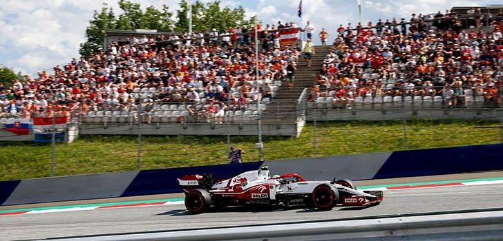 Alfa Romeo, sin puntos en la carrera de Austria