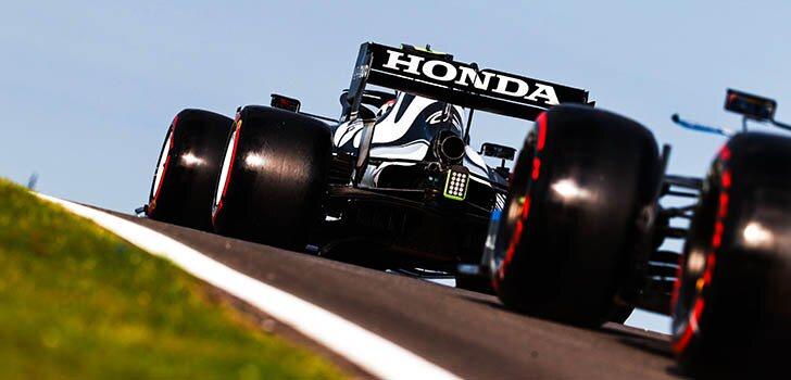 Preparación de Honda para la carrera al sprint