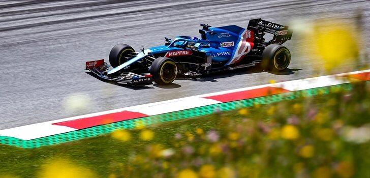Alonso, a los mandos del A521