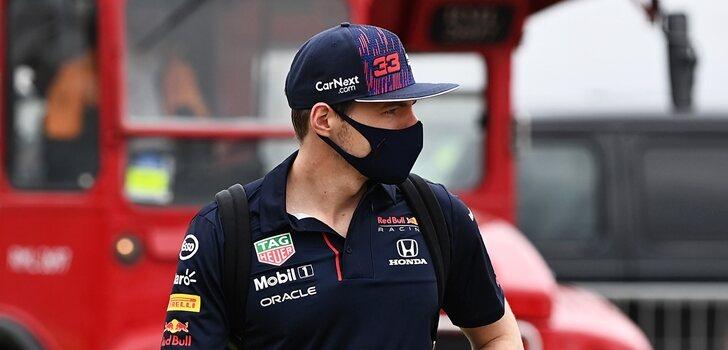 Verstappen, en Silverstone