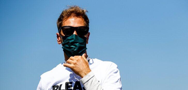 Vettel, en Silverstone