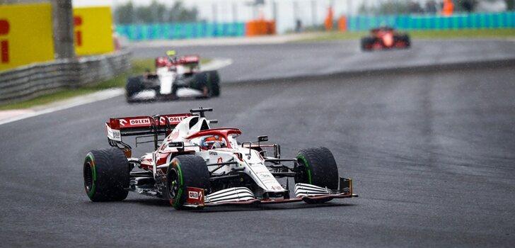Räikkönen, en el GP de Hungría 2021