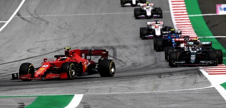 Sainz, en el GP de Estiria 2021