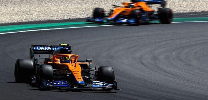 Norris, sobre Ricciardo