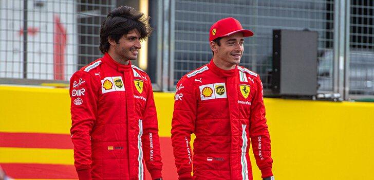 Leclerc, Sainz