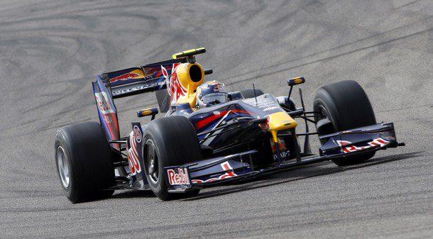 Suerte dispar en los pilotos Red Bull