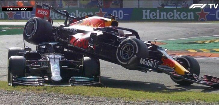 Verstappen, por encima de Hamilton en Monza