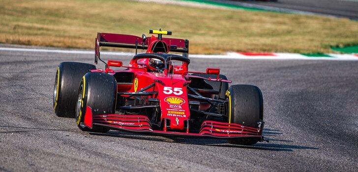 Sainz, en el GP de Italia 2021