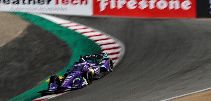 Grosjean, en la IndyCar