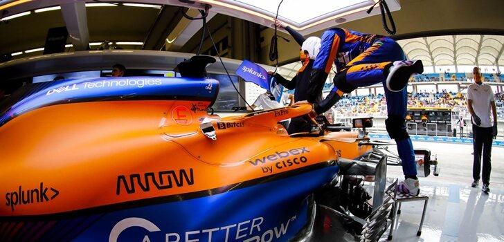 Ricciardo se sube al MCL35M