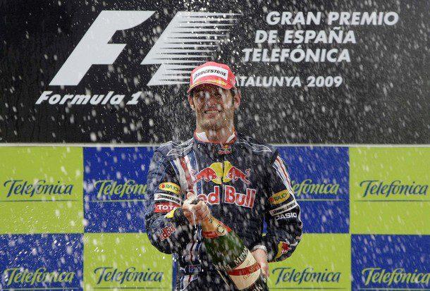 La estrategia aupa a Webber al podio