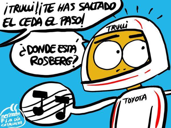 La viñeta (52): '¿Dónde está Rosberg?'