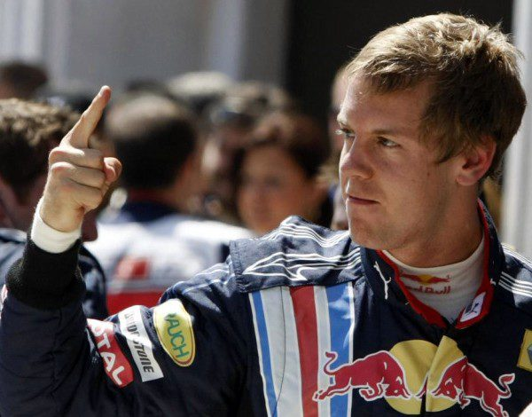 Tercera 'pole' de su carrera para Vettel