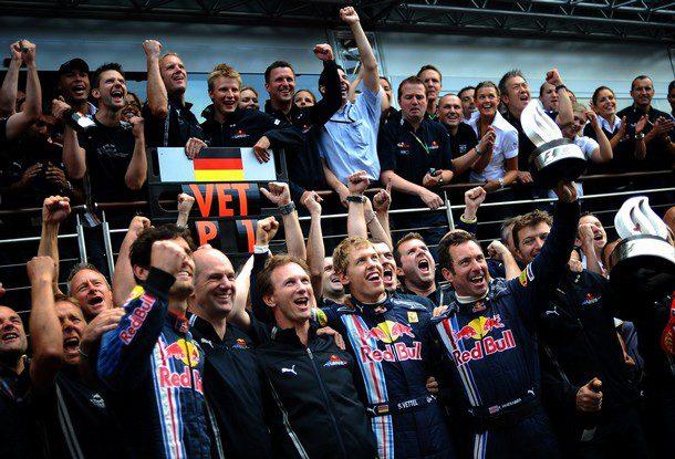Nürburgring homenajea a Sebastian Vettel