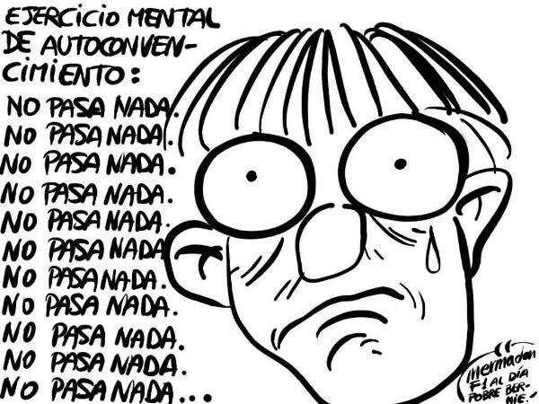 La viñeta (63): 'No pasa nada'