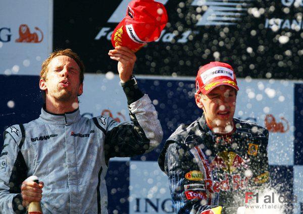 "Webber:""Button no comete errores"""