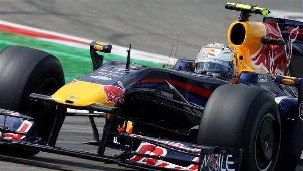 Red Bull con algunos problemas el viernes