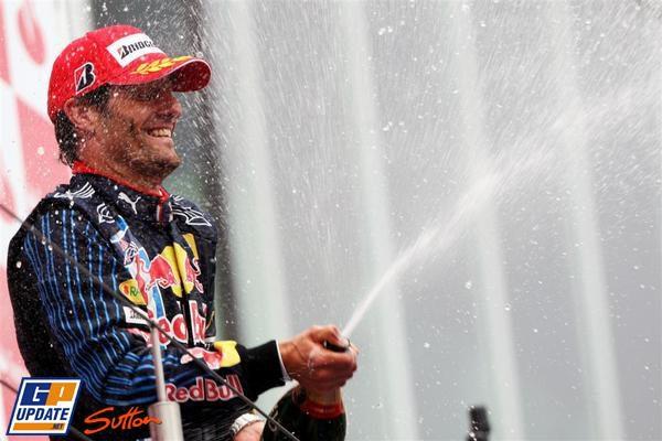 ¡¡Hay Mundial!! Victoria de Webber y doblete de Red Bull