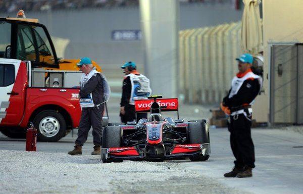 5 puestos de penalización para Kovalainen